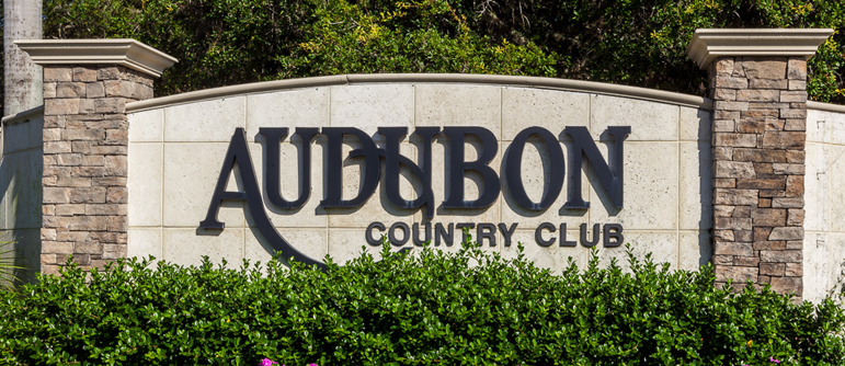 Audubon golf real estate in Naples, Florida