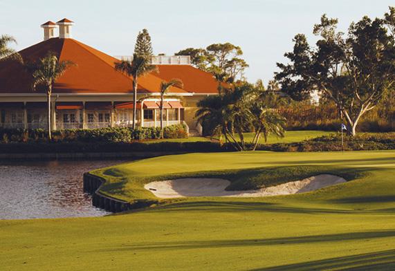 LaPlaya Beach Golf in Naples, Florida