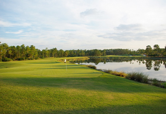 Old Corkscrew Golf Course in Naples, Florida
