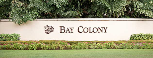 Bay Colony golf real estate in Naples, Florida