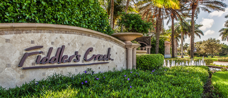 Fiddlers Creek golf real estate in Naples, Florida