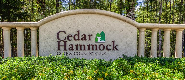 Cedar Hammock golf real estate in Naples, Florida