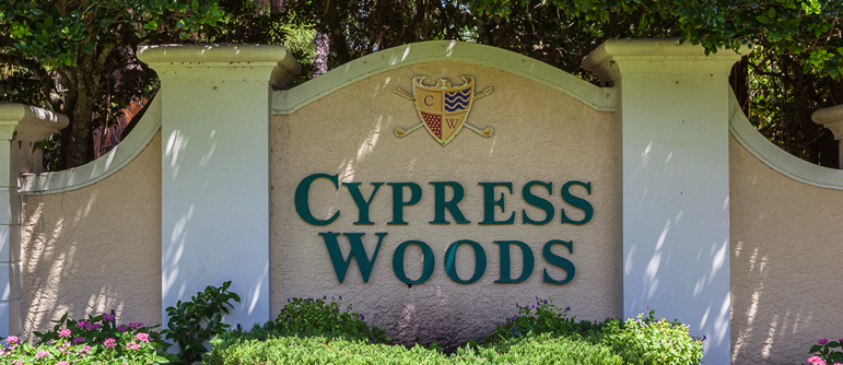 Cypress Woods real estate in Naples, Florida