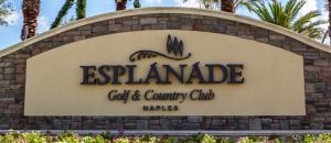 Esplanade golf real estate in Naples, Florida