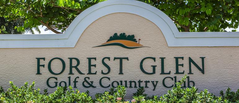 Forest Glen golf real estate in Naples, Florida