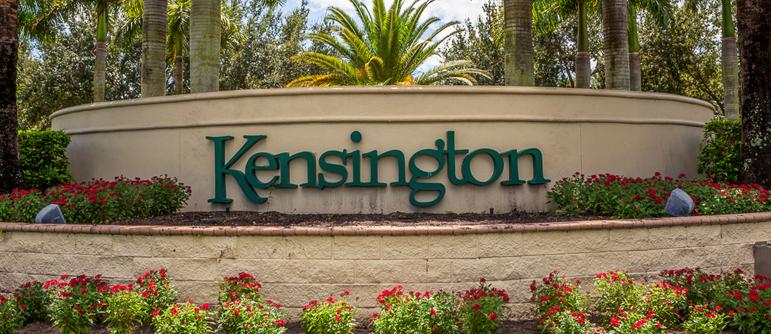 Kensington equity golf real estate in Naples, Florida