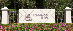 Pelican Bay equity golf real estate in Naples, Florida