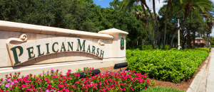 Pelican Marsh equity golf real estate in Naples, Florida