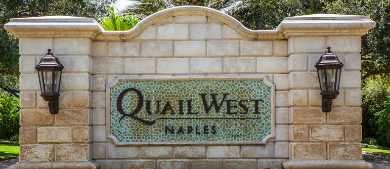 Quail West equity golf real estate in Naples, Florida