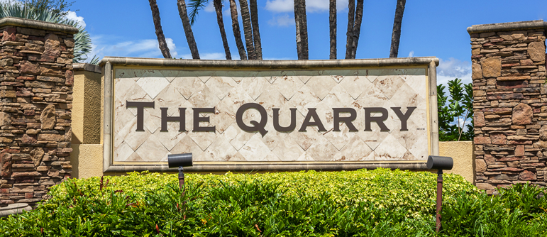 The Quarry equity golf real estate in Naples, Florida