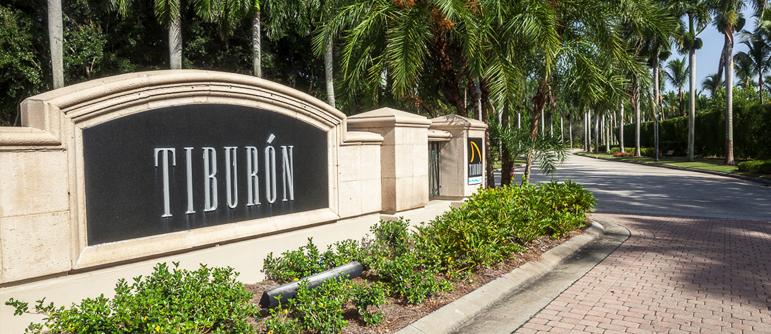 Tiburon equity golf real estate in Naples, Florida