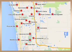 Naples Equity Golf Community Map