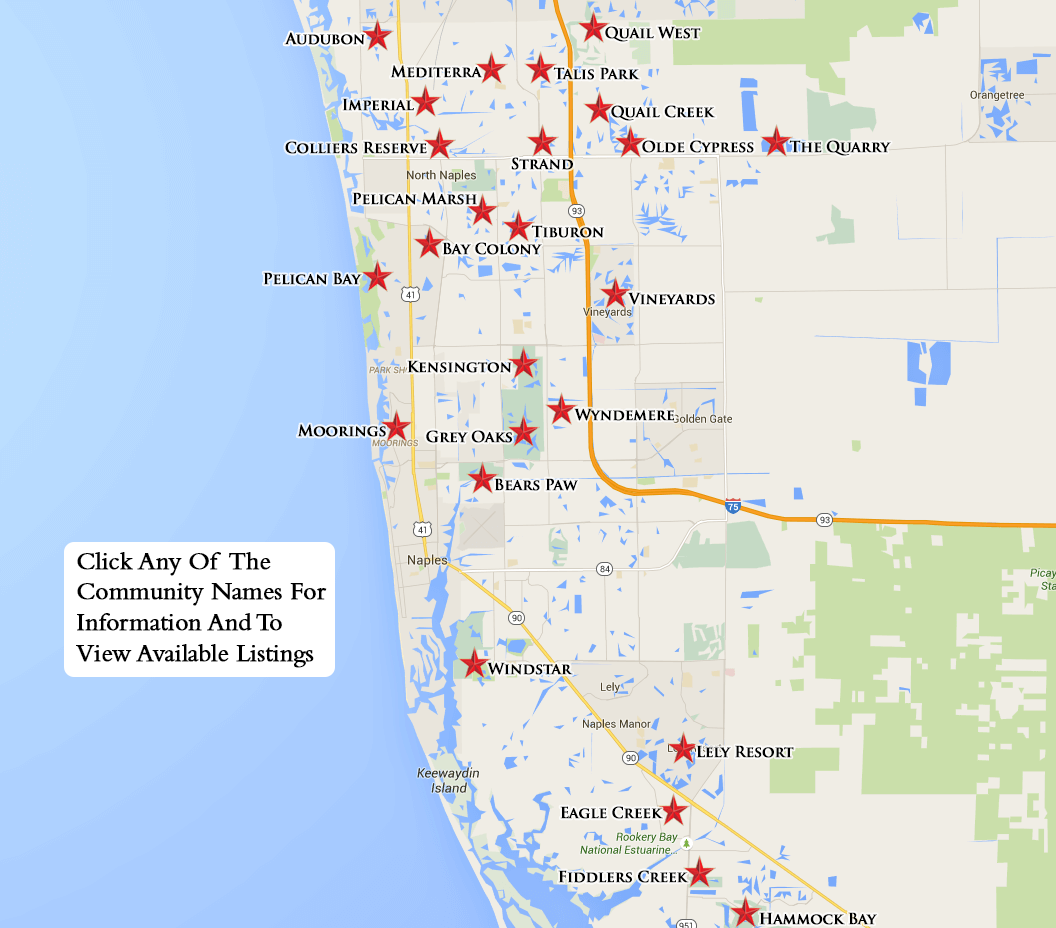 naples equity courses map