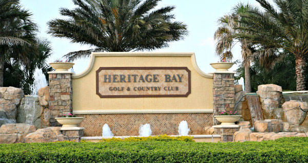 Heritage Bay equity golf real estate in Naples, Florida