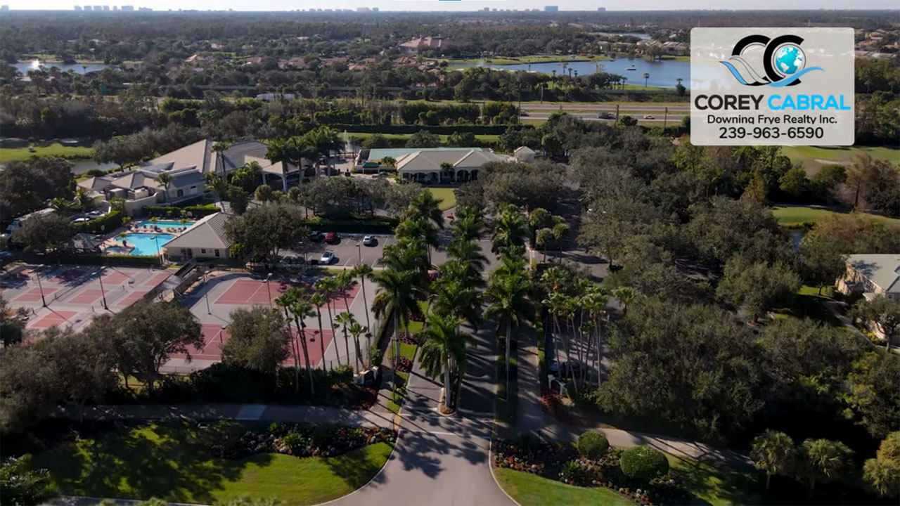 Cypress Woods Golf Real Estate in Naples, Florida