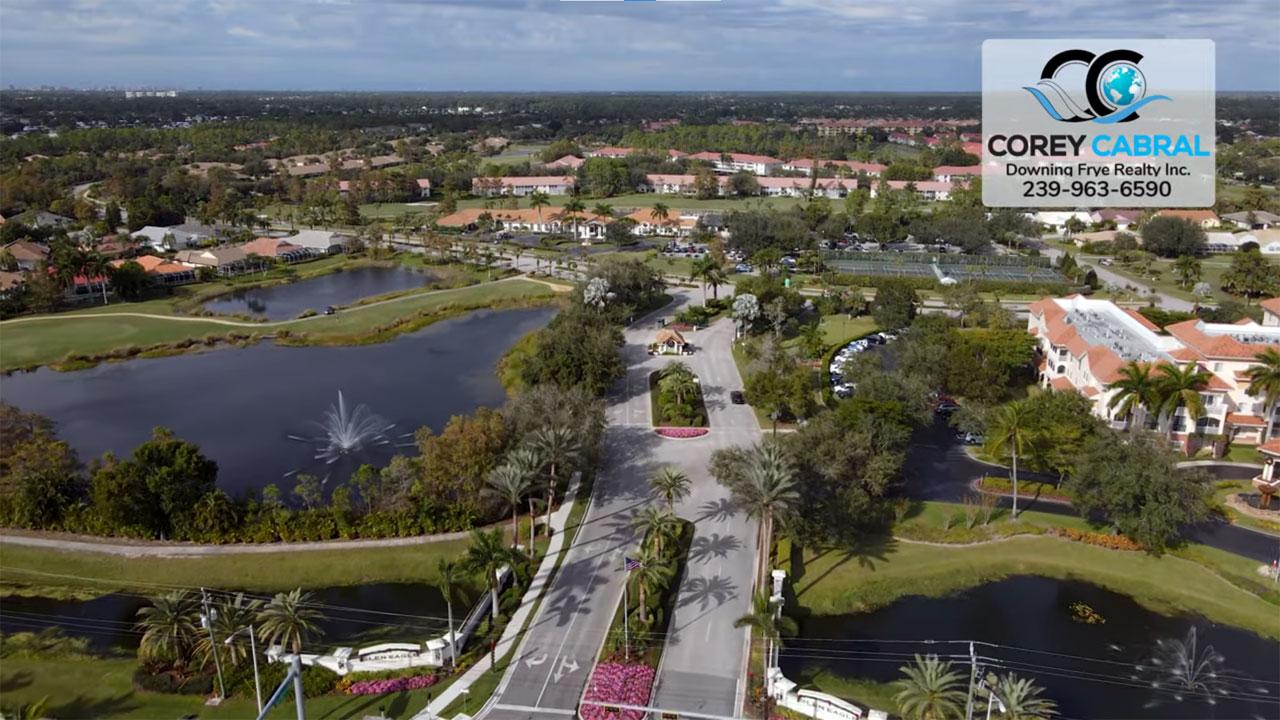 Glen Eagle Golf Real Estate in Naples, Florida