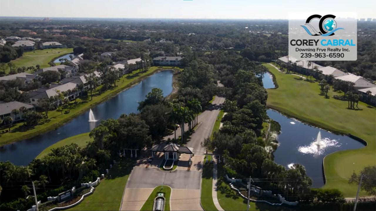 Stonebridge Golf Real Estate in Naples, Florida