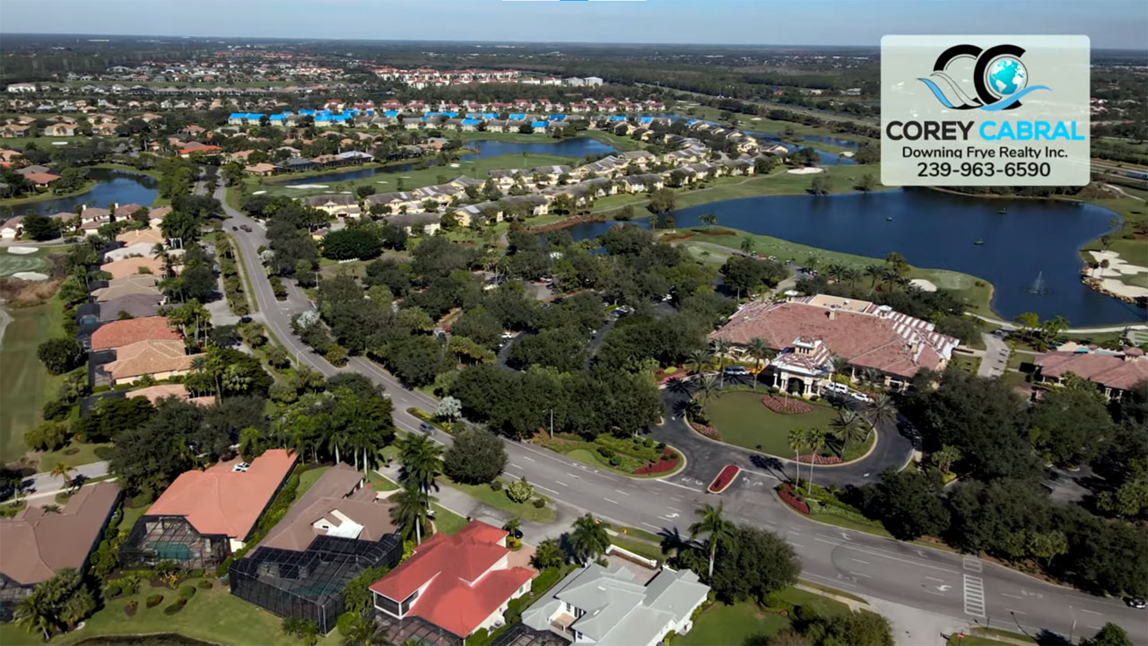 The Strand Golf Real Estate in Naples, Florida